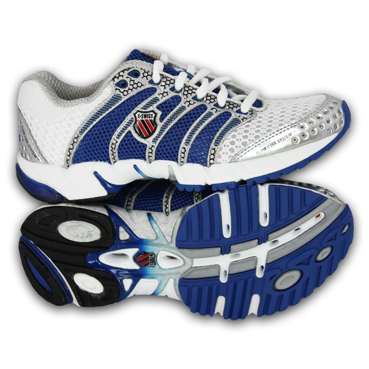 Trainers Shoes Up blue 92243163 Ladies White Swiss Designer Jogging K Womens Running Lace OSqqdw4x
