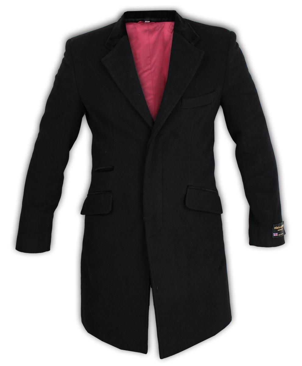 Para-Hombre-Abrigo-Chaqueta-de-lana-cashmere-Casual-abrigos-Abrigo-Trench-Forro-De-Invierno miniatura 3