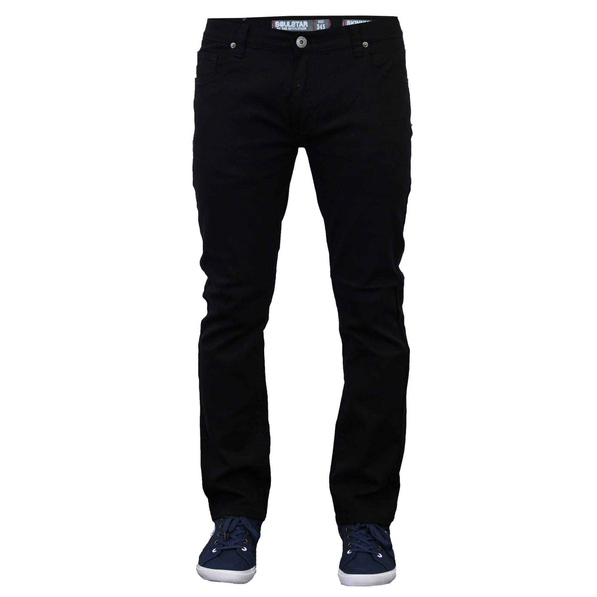 Dress to impress with men's jeans from Kmart. Style doesn't need to be complicated. A pair of men's jeans and a plain white tee creates a classic look without much effort.