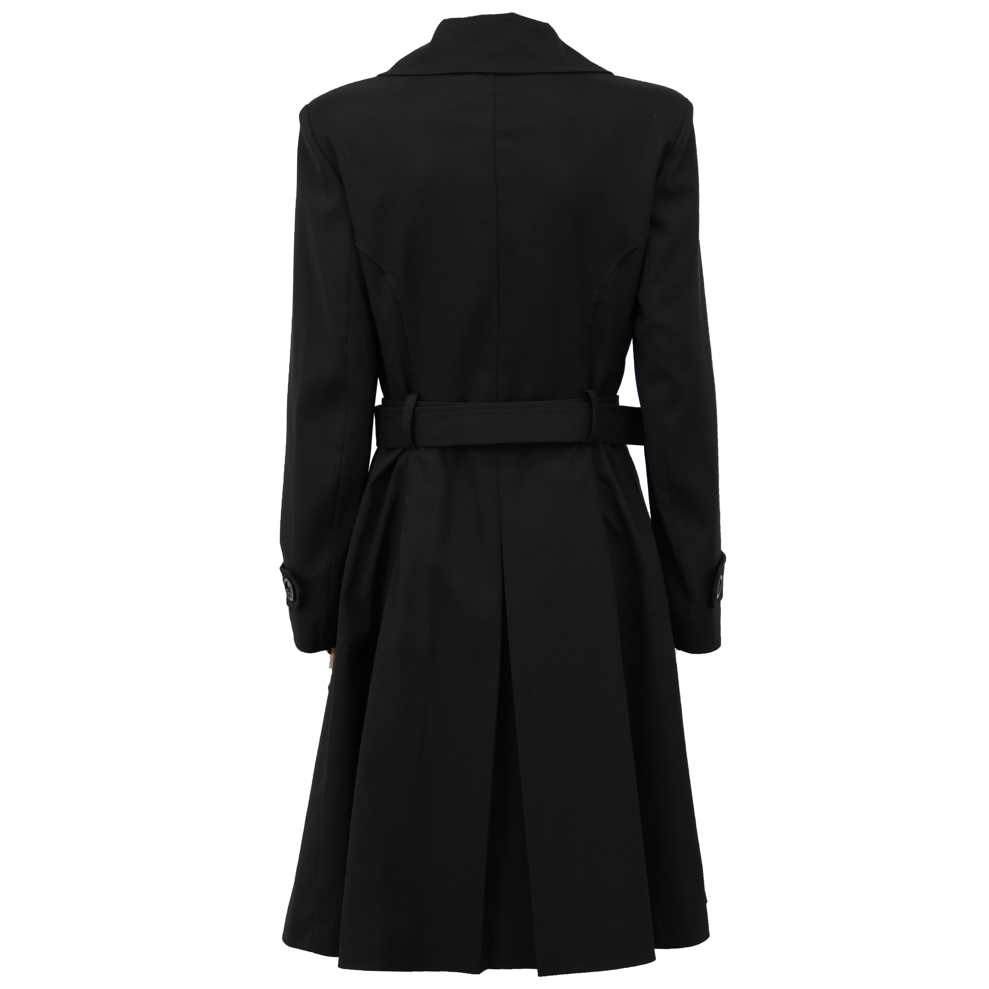 Women's Long Lined Trench Coat