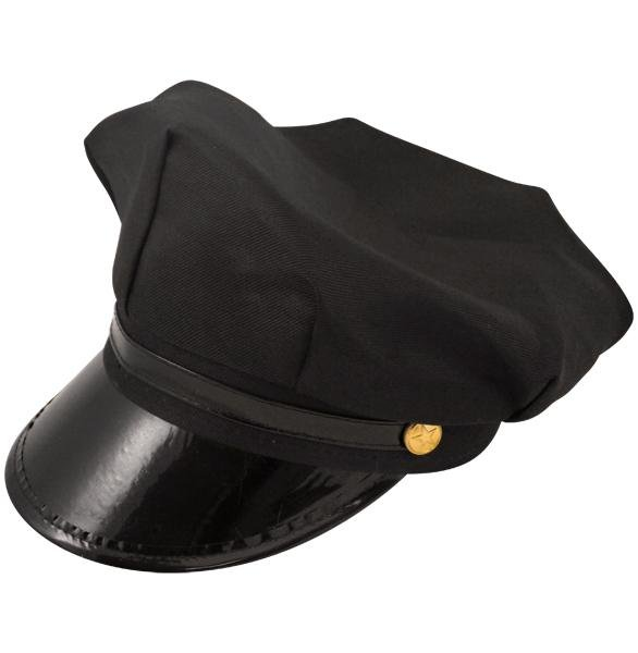 Chauffeur Hat for Jeeves Parker Wedding Fancy Dress Accessory