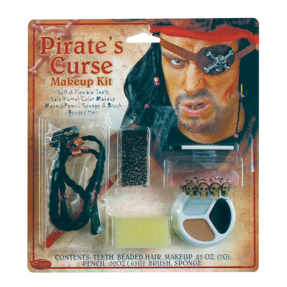 Pirates Curse Makeup Kit for Fancy Dress
