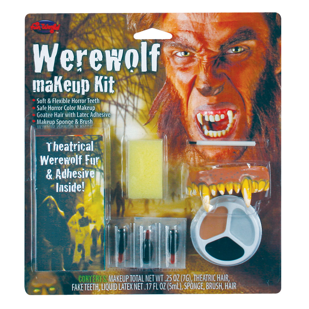 Warewolf Makeup Kit for Fancy Dress