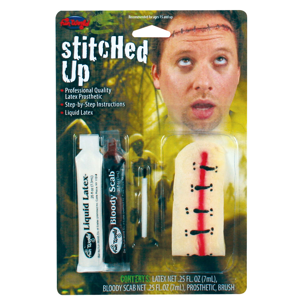 Stitched Up Fx Kit Makeup for Fancy Dress