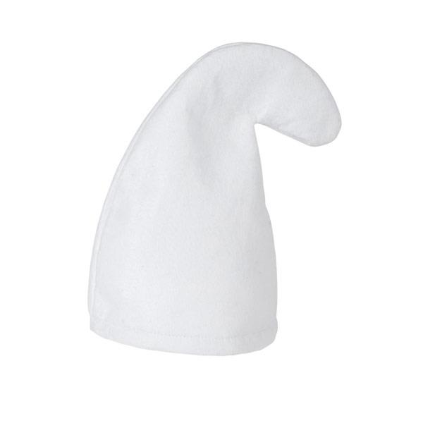 Gnome Hat / White for Garden Elf Dwarf Orc Goblin Fancy Dress
