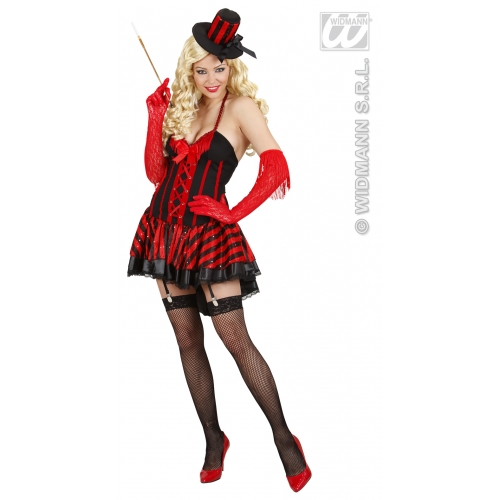 Moulin rouge outfits womens fancy dress ebay ladies burlesque girl costume for moulin rouge can can french fancy dress outfit solutioingenieria Images