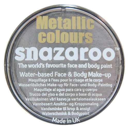 SILVER METALLIC MAKEUP 18ml SFX for SFX Cosmetics