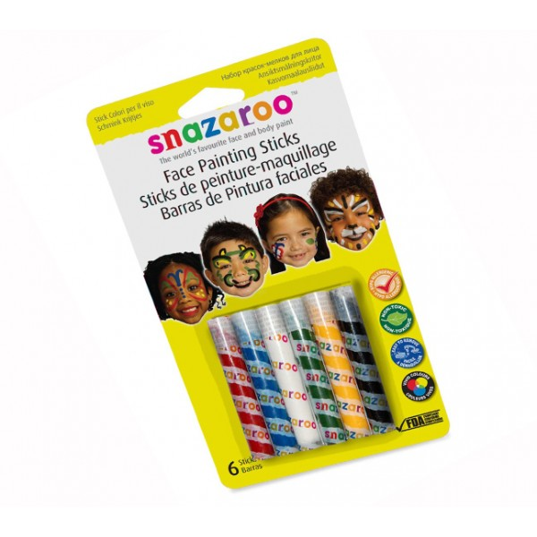 UNISEX FACE PAINTING STICKS Accessory for Fancy Dress