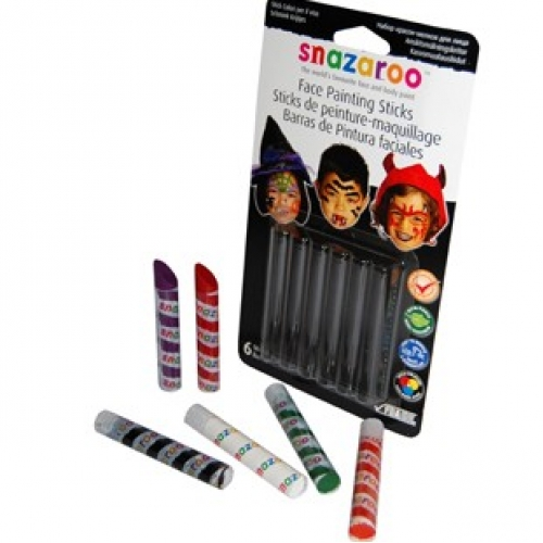 HALLOWEEN FACE PAINTING STICKS Accessory for Trick Or Treat Fancy Dress