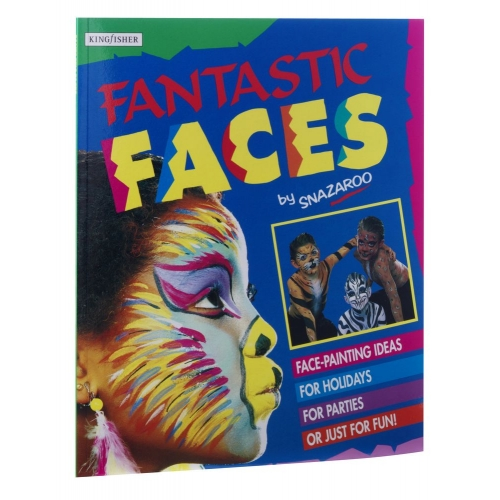 Makeup Book Fantastic Faces for SFX Stage Accessory