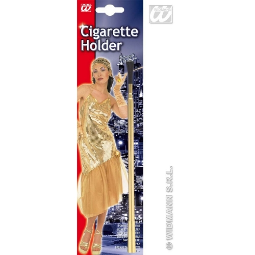 EXTENDING CIGARETTE HOLDER Accessory for Fags Cigs Smokes Smoking Fancy Dress