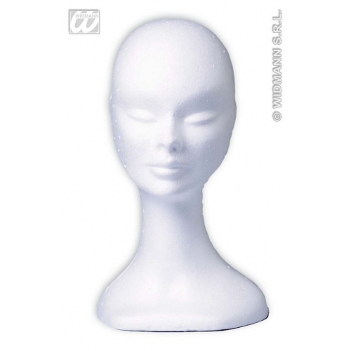 WHITE POLYSTYRENE POLYHEAD for Shop