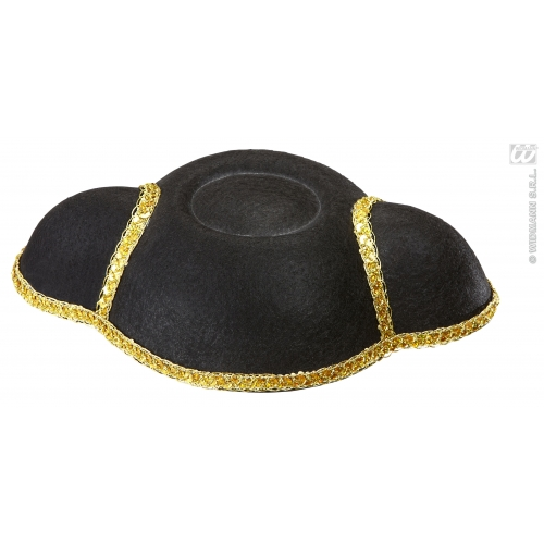 TORERO HAT FELT Accessory for Spannish Bullfighter Fancy Dress