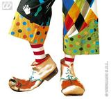 ADULT SIZE Adult Unisex LATEX CLOWN SHOES SFX for Circus FunFair Parade Cosmetics Unisex Mens