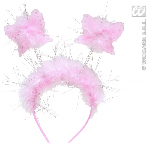 BUTTERFLY HEADBOPPERS Accessory for Caterpillar Bug Insect Animal Fancy Dress