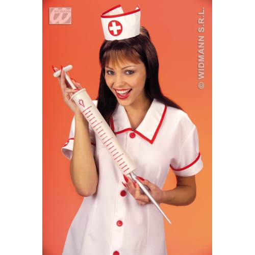 MAXI SYRINGE 55CM Accessory for Hospital Carry On Surgeon Fancy Dress