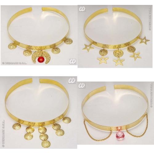 ARABIAN TIARA 1 of 4 styles Hat Accessory for Arab Prince Aladdin Fancy Dress