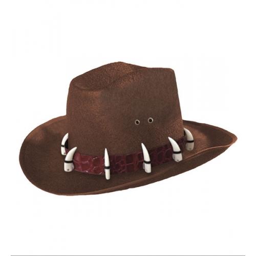 FELT EXPLORER DANDY HAT Accessory for Adventurer Archeologist Safari Fancy Dress