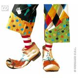 Child Unisex LATEX CLOWN SHOES SIZE SFX for Circus FunFair Parade Cosmetics Unisex Kids Girls