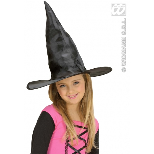 CHILD SIZE Girls WITCH HAT Accessory for Halloween Oz Eastwick Fancy Dress Childs Kids