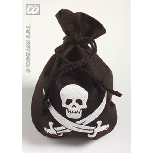PIRATE POUCH Accessory for Buccaneer Sailor Jack Blackbeard Fancy Dress