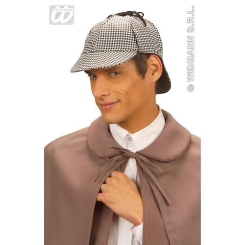 DETECTIVE HAT Accessory for Policeman Police Cop DI Inspector Sherlock Fancy Dress