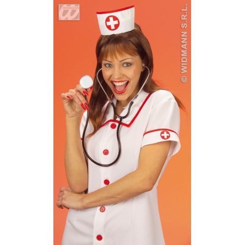 NURSE HAT Accessory for Hospital Carry On Surgeon Fancy Dress