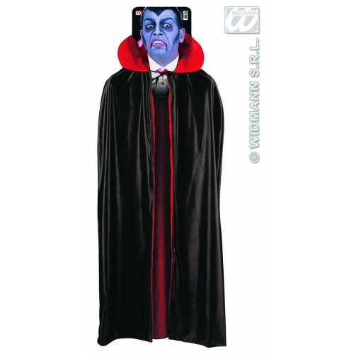 DELUXE LINED CAPES WITH COLLAR 135 cm Accessory for Fancy Dress