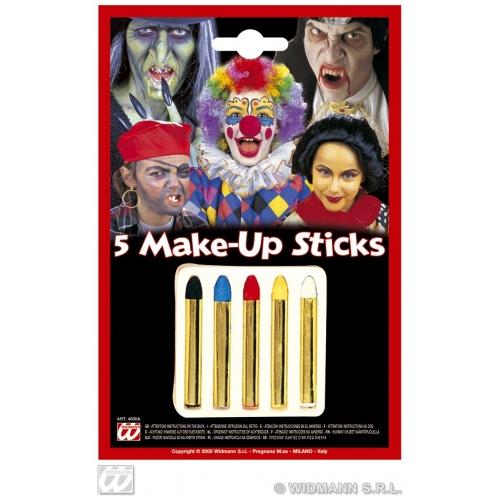 MAKEUP STICKS Set of 5 colours SFX for SFX Cosmetics