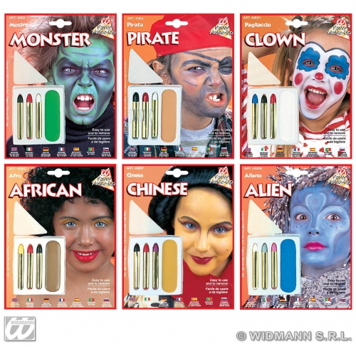 CHARACTERIAL MAKEUP SET 1 of 6 styles SFX for SFX Cosmetics