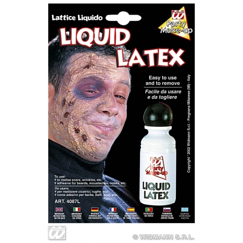 LIQUID LATEX ADHESIVE BOTTLE SFX for Cosmetics