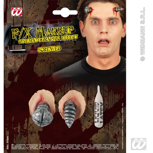 HALLOWEEN SFX SCREWS SFX for Trick Or Treat Cosmetics