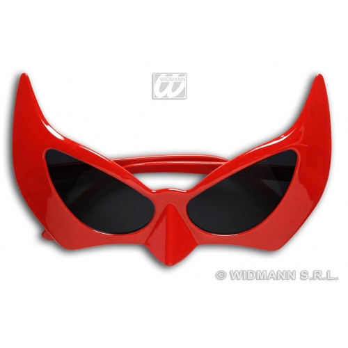 GLASSES DEVIL Accessory for Satan Lucifer Demon Antichrist Halloween Fancy Dress