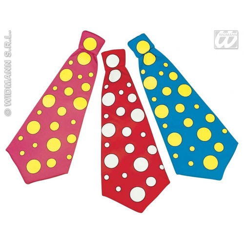 1 MAXI TIE pink/red/blue Accessory for Fancy Dress
