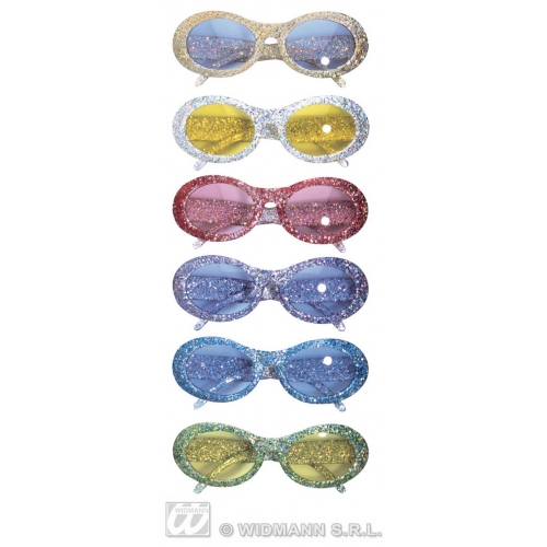 50s GLITTER FASHION GLASSES SFX for 50s Rockabilly Fifties Cosmetics