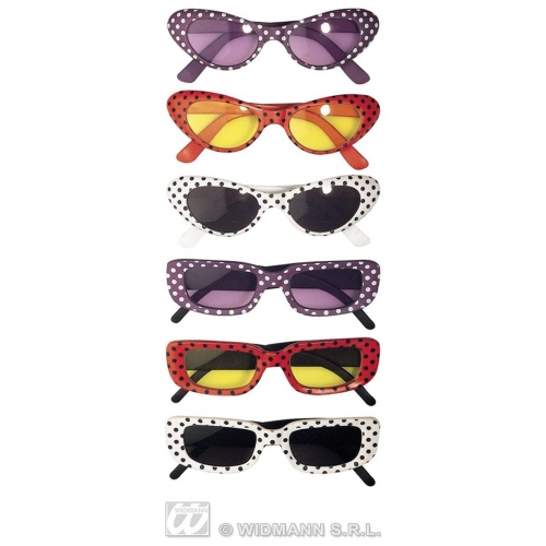 DISCO GLASSES Accessory for 70s Pop Music Night Fever Fame Fancy Dress