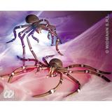 BENDABLE GIANT SPIDER 80cm Decoration for Insect Arachnid Creepy Crawly Insect Party