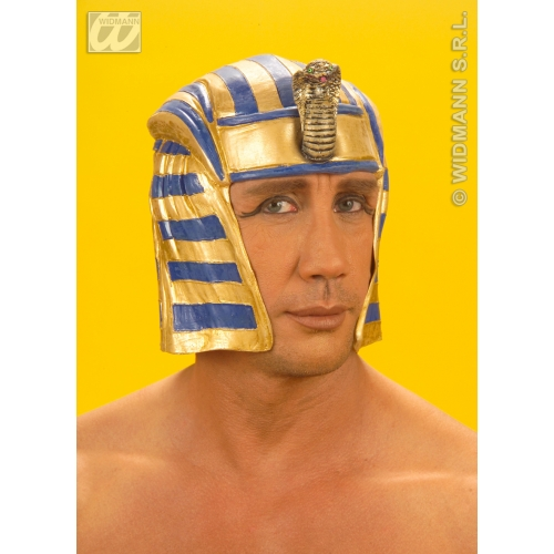 EGYPTIAN HEADPIECE LATEX Accessory for Ancient Pharaoh Egypt Fancy Dress