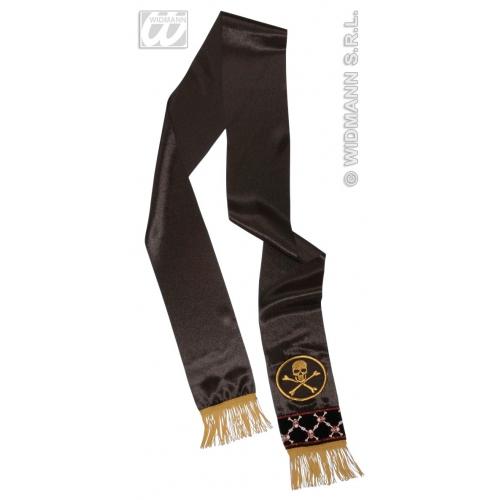 PIRATE WAIST SASH SATIN Accessory for Buccaneer Sailor Jack Blackbeard Fancy Dress