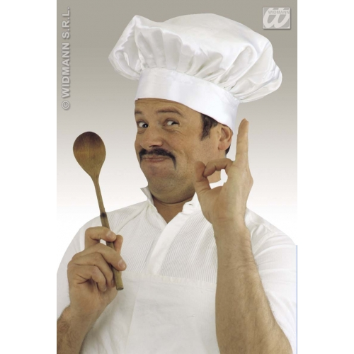FABRIC COOK/CHEF HAT Accessory for Fancy Dress