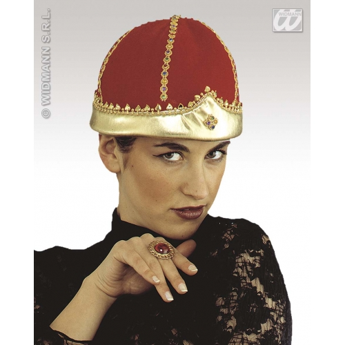 VELVET QUEEN CROWNS Accessory for Royal Regal Ruler Leader Fancy Dress