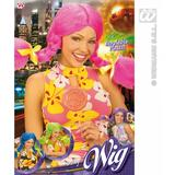 1 DOLLY WIG IN BOX PLAITS (pink/green/blue/purple) Accessory for Hair Extensions