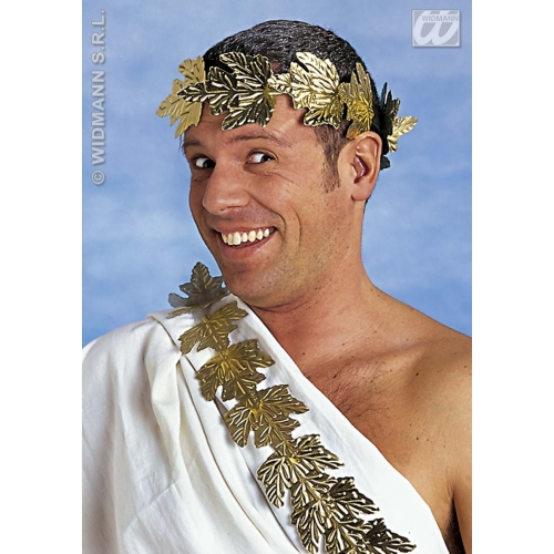 LAUREL CROWN Accessory for Royal Regal Ruler Fancy Dress