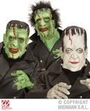 MASK FRANKENSTEIN FULL HEAD Accessory for Body Part Halloween Prop Headless Fancy Dress