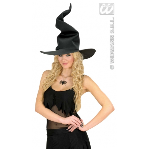 ADULT SIZE Adult Unisex WEIRD WITCH HAT Accessory for Halloween Oz Eastwick Fanc