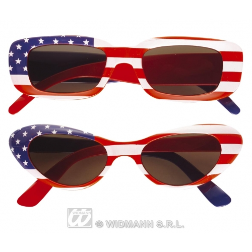 GLASSES USA Accessory for American United States Fancy Dress