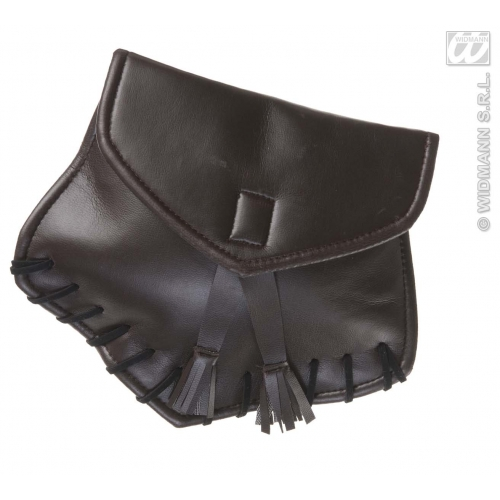 LEATHERLOOK BELT PURSE Accessory for Fancy Dress