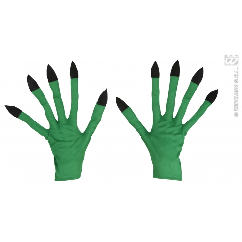 Adult Unisex WITCH GLOVES Accessory for Halloween Oz Eastwick Fancy Dress 1Size
