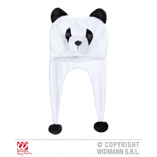 PANDA HAT Accessory for Chinese Bear Animal Fancy Dress