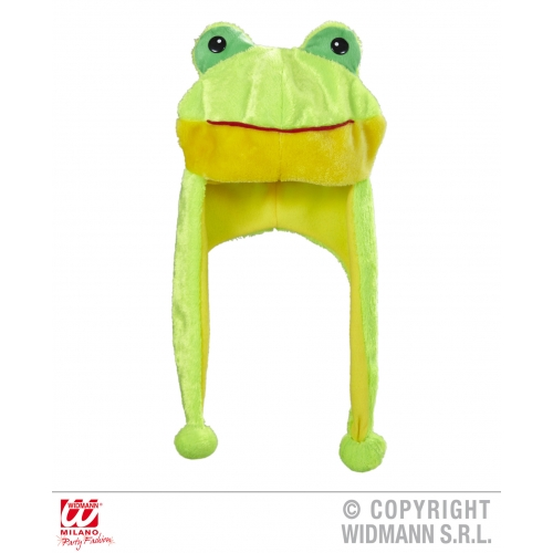 FROG HAT Accessory for Toad Amphibian Animal Fancy Dress